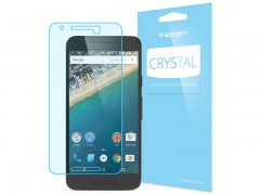 محافظ صفحه نمایش اسپیگن Spigen Crystal Screen Protector For Nexus 5X