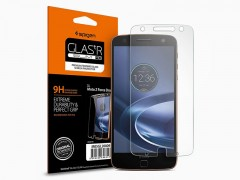 محافظ صفحه نمایش گلس اسپیگن Spigen GLAS.tR Screen Protector For Motorola Moto Z Force Droid