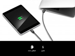 کابل شارژ و انتقال داده تایپ سی اسپیگن Spigen USB-C Connector to USB 3.0 Cable
