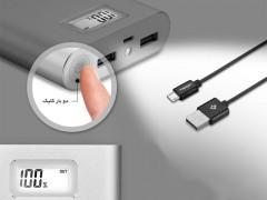 پاور بانک 10000 میلی آمپر ساعتی اسپیگن Spigen F710D Dual Portable Charger