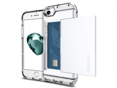 قاب محافظ اسپیگن Spigen Crystal Wallet Case For Apple iPhone 8