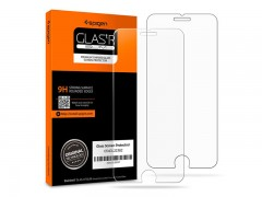 محافظ صفحه نمایش گلس اسپیگن Spigen GLAS.tR Slim HD Screen Protector For Apple iPhone 8
