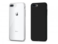 قاب محافظ اسپیگن Spigen Liquid Crystal Case For Apple iPhone 8 Plus