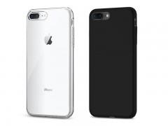 قاب محافظ اسپیگن Spigen Liquid Crystal Case For Apple iPhone 8 Plus