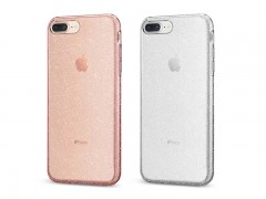 قاب محافظ اسپیگن Spigen Liquid Crystal Glitter Case For Apple iPhone 8 Plus