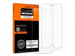 محافظ صفحه نمایش گلس اسپیگن Spigen GLAS.tR Slim HD Screen Protector For Apple iPhone 8 Plus