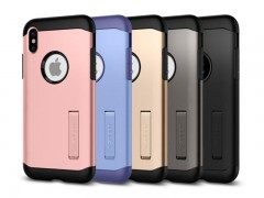 قاب محافظ اسپیگن Spigen Slim Armor Case For Apple iPhone X