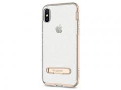 قاب محافظ اسپیگن Spigen Crystal Hybrid Glitter Case For Apple iPhone X