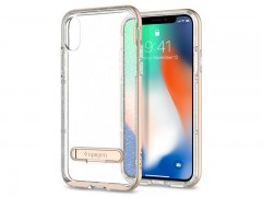 قاب محافظ اسپیگن Spigen Crystal Hybrid Glitter Case For Apple iPhone X