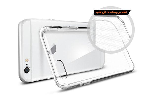 قیمت خرید قاب محافظ ژله ای لیکوئید کریستال liquid Crystal اورجینال اسپیگن گوشی های اپل ایفون 6 و 6 اس