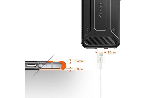 قیمت خرید قاب محافظ نئو هیبرید کربن neo hybrid carbon اورجینال اسپیگن گوشی اپل ایفون 6 اس