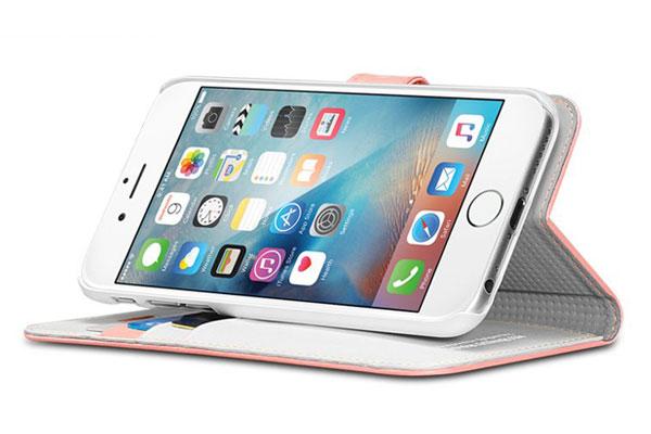قیمت خرید کیف محافظ چرمی کلاسوری والت اس wallet s اورجینال اسپیگن برای گوشی اپل آیفون 6 اس