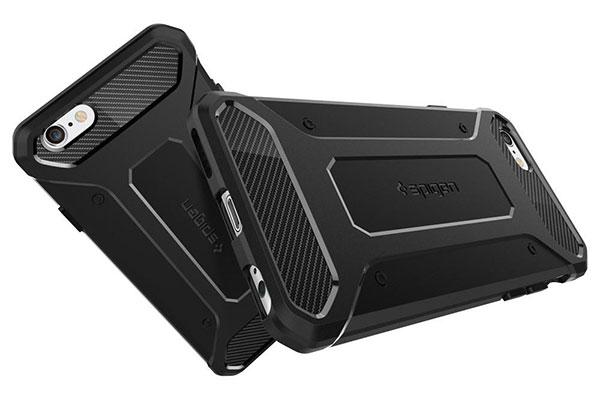 قیمت خرید قاب محافظ رگ ارمور rugged armor اورجینال اسپیگن گوشی اپل ایفون 6 اس