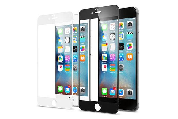 قیمت خرید محافظ صفحه نمایش گلس تمام صفحه Full Cover Glass اورجینال اسپیگن گوشی اپل ایفون 6 اس