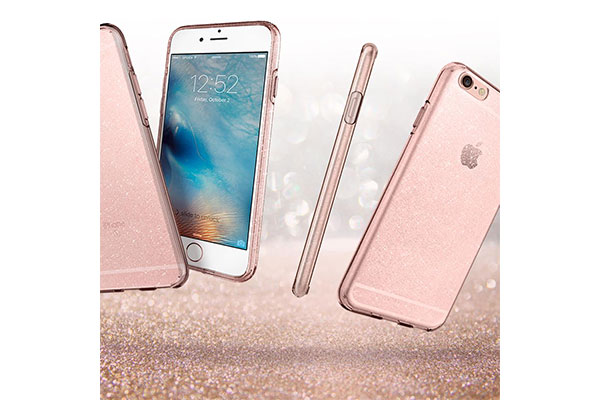 قیمت خرید قاب محافظ ژله ای براق لیکوئید کریستال جلیتر liquid crystal glitter اورجینال اسپیگن برای گوشی های اپل آیفون 6 و 6 اس