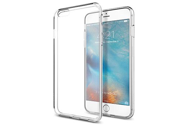قیمت خرید قاب محافظ ژله ای لیکوئید کریستال liquid crystal اورجینال اسپیگن گوشی اپل ایفون 6 اس پلاس