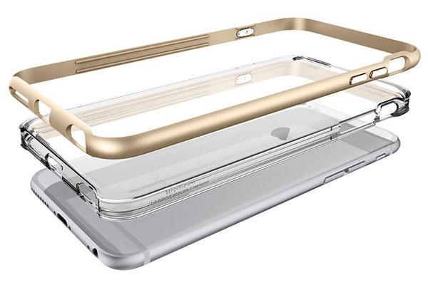 قیمت خرید قاب محافظ نئو هیبرید ای ایکس neo hybrid ex اورجینال اسپیگن گوشی اپل ایفون 6 اس پلاس