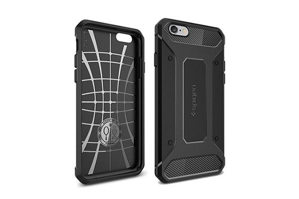 قیمت خرید قاب محافظ رگ ارمور rugged armor اورجینال اسپیگن گوشی اپل ایفون 6 اس پلاس