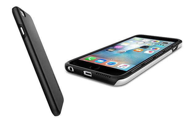 قیمت خرید قاب محافظ تین فیت هیبرید thin fit hybrid اورجینال اسپیگن برای گوشی اپل ایفون 6 اس پلاس