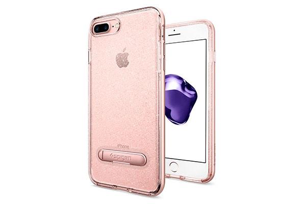قیمت خرید قاب محافظ ژله ای براق لیکوئید کریستال جلیتر Liquid Crystal Glitter اورجینال اسپیگن برای گوشی اپل ایفون 7 پلاس