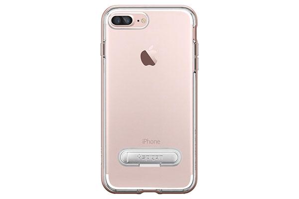 قیمت خرید قاب محافظ کریستال هیبرید Crystal Hybrid اورجینال اسپیگن برای گوشی اپل ایفون 7 پلاس