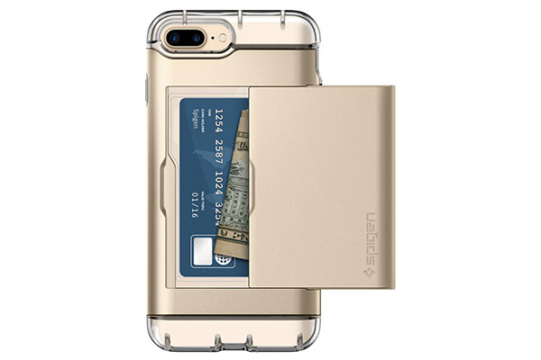قیمت خرید قاب محافظ کریستال والت Crystal Wallet اورجینال اسپیگن برای گوشی اپل ایفون 7 پلاس