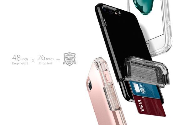 قیمت خرید قاب محافظ فلیپ ارمور Flip Armor اورجینال اسپیگن برای گوشی اپل ایفون 7 پلاس