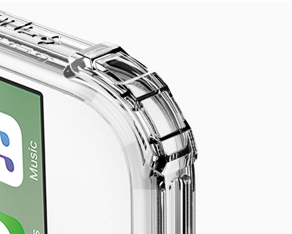 قیمت خرید قاب محافظ کریستال شل Crystal Shell اورجینال اسپیگن برای گوشی اپل ایفون 7 پلاس