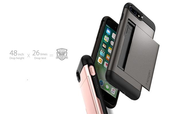 قیمت خرید قاب محافظ اسلیم ارمور سی اس Slim Armor CS اورجینال اسپیگن برای گوشی اپل ایفون 7 پلاس