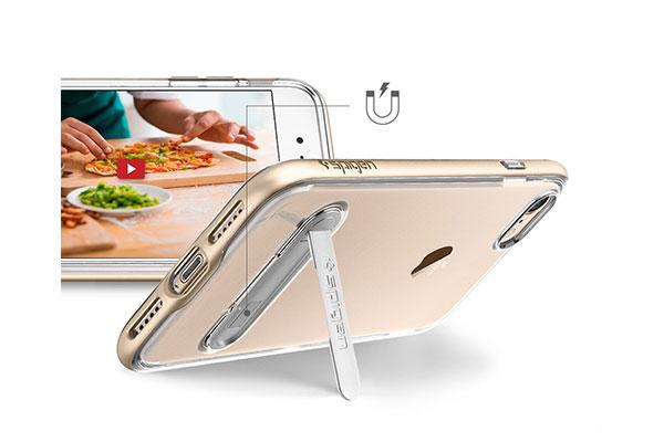 قیمت خرید قاب محافظ کریسال هیبرید Crystal Hybrid اورجینال اسپیگن برای گوشی اپل ایفون 7