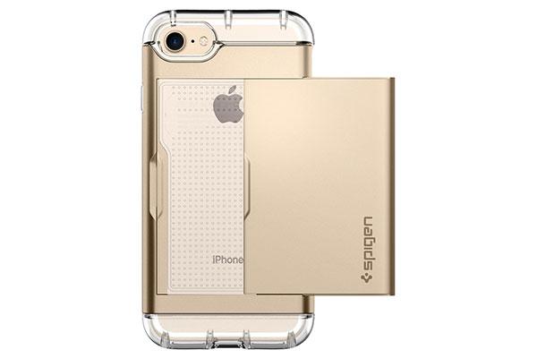 قیمت خرید قاب محافظ کریستال والت Crystal wallet اورجینال اسپیگن برای گوشی اپل ایفون 7