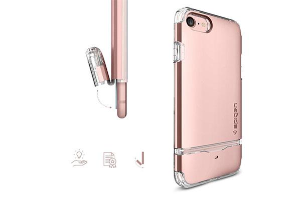 قیمت خرید قاب محافظ فلیپ ارمور Flip Armor اورجینال اسپیگن برای گوشی اپل ایفون 7