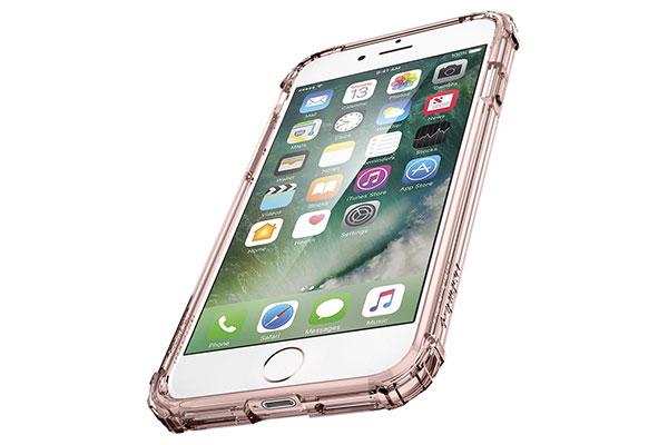 قیمت خرید قاب محافظ کریستال شل Crystal Shell اورجینال اسپیگن برای گوشی اپل ایفون 7
