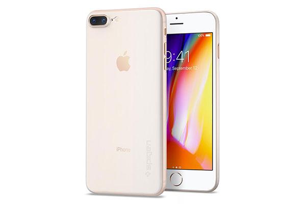 قیمت خرید قاب محافظ ایر اسکین Air Skin اورجینال اسپیگن برای گوشی اپل ایفون 8 پلاس