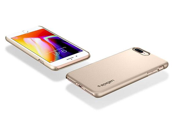 قیمت خرید قاب محافظ تین فیت Thin Fit اورجینال اسپیگن برای گوشی اپل ایفون 8 پلاس