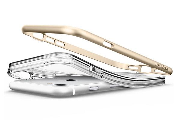 قیمت خرید قاب محافظ کریسال هیبرید Crystal Hybrid اورجینال اسپیگن برای گوشی اپل ایفون 8
