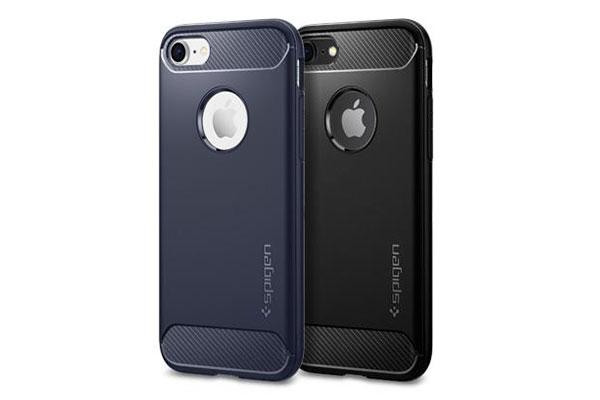 قیمت خرید قاب محافظ رگ ارمور rugged armor اورجینال اسپیگن برای گوشی اپل آیفون 8