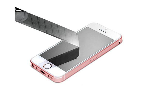 قیمت خرید محافظ صفحه نمایش گلس تی ار اسلیم اچ دی GLAS.tR SLIM HD اورجینال اسپیگن برای گوشی اپل آیفون اس ای se