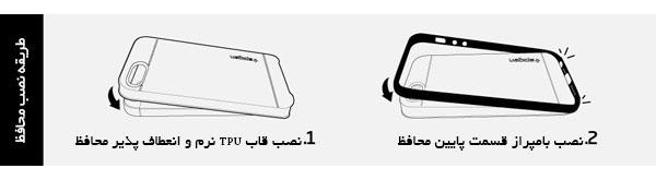 قیمت خرید قاب محافظ نئو هیبرید Neo Hybrid اورجینال اسپیگن برای گوشی اپل ایفون اس ای se