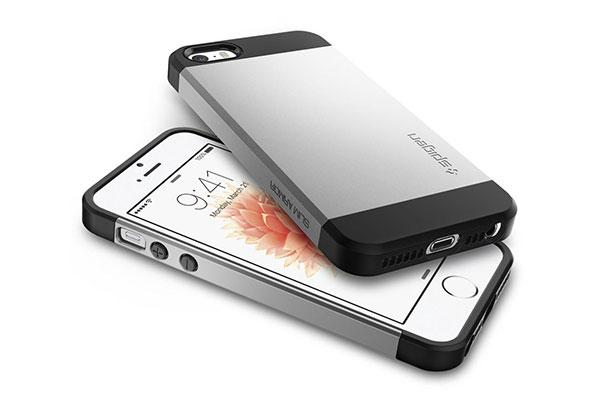 قیمت خرید قاب محافظ اسلیم آرمور Slim Armor اورجینال اسپیگن برای گوشی های اپل آیفون 5 و 5 اس