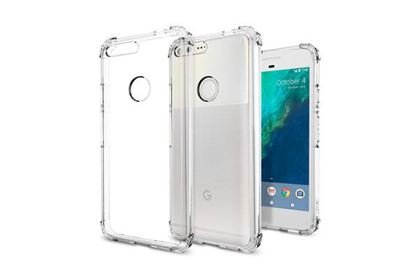 قیمت خرید قاب محافظ کریستال شل crystal shell اورجینال اسپیگن برای گوشی گوگل پیکسل ایکس ال