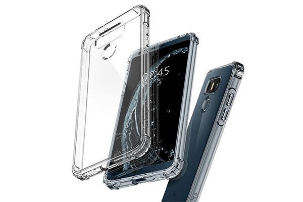 قیمت خرید قاب محافظ کریستال شل crystal shell اورجینال اسپیگن برای گوشی ال جی جی 6