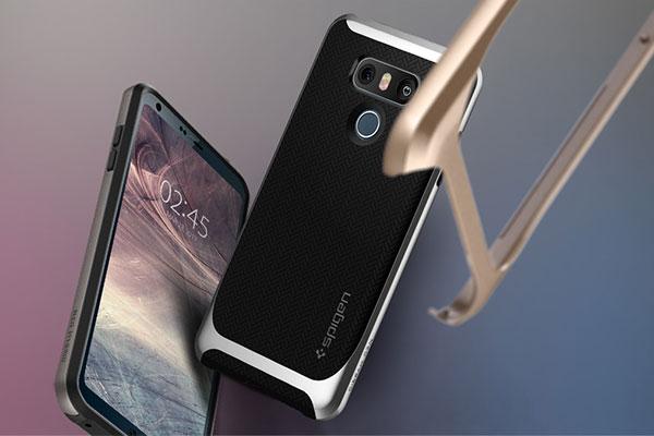 قیمت خرید قاب محافظ نئو هیبرید neo hybrid اورجینال اسپیگن برای گوشی ال جی جی 6