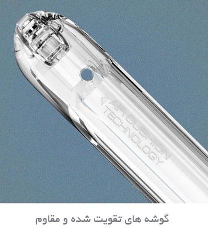 قیمت خرید قاب محافظ رگ کریستال rugged crystal اورجینال اسپیگن برای گوشی سامسونگ گلکسی نوت 8