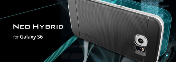 قیمت خرید قاب محافظ نئو هیبرید Neo Hybrid اورجینال اسپیگن برای گوشی سامسونگ گلکسی اس 6