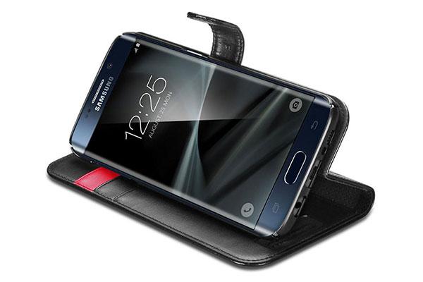 قیمت خرید کیف محافظ چرمی کلاسوری والت اس wallet s اورجینال اسپیگن برای گوشی سامسونگ گلکسی اس 7 اج