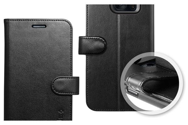 قیمت خرید کیف محافظ چرمی کلاسوری والت اس wallet s اورجینال اسپیگن برای گوشی سامسونگ گلکسی اس 7