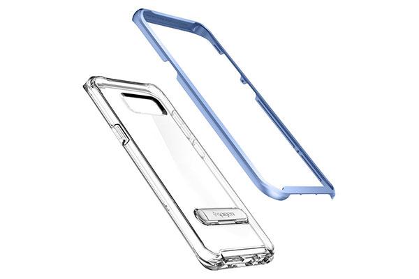 قیمت خرید قاب محافظ کریستال هیبرید crystal hybrid اورجینال اسپیگن برای گوشی سامسونگ گلکسی اس 8 پلاس