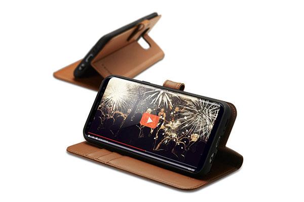 قیمت خرید کیف محافظ چرمی کلاسوری والت اس wallet s اورجینال اسپیگن برای گوشی سامسونگ گلکسی اس 8