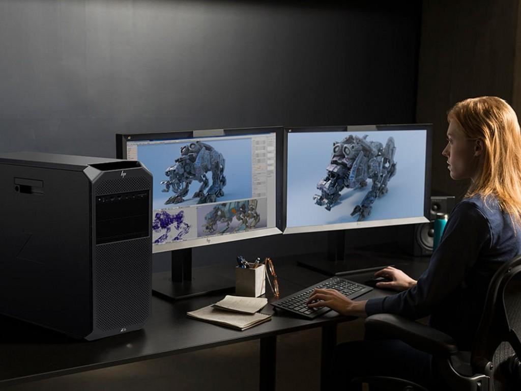 اچ پی ورک استیشن Z تحقق بخش رویای واقعیت مجازی
